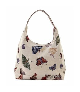 """Shabby Chic Damentasche """"Schmetterlinge"""""""