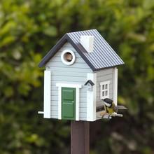 Wildlife Garden Multiholk Vogelhaus Graues Haus