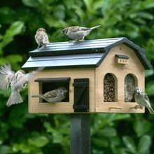 Wildlife Garden Futterscheune für Vögel, natur