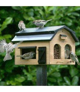 Landhaus Futterscheune für Vögel, natur