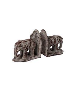 """Buchstützen Landhaus """"Elefanten"""""""