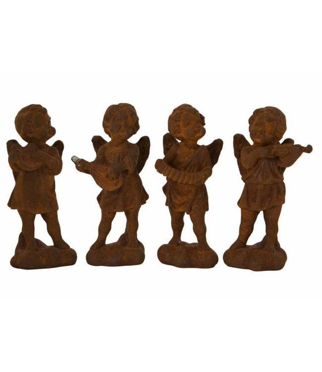 Musizierende Engel - Set mit 4 Stück