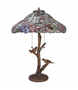 Tiffany Lampen Landhausstil Tischlampe Tiffany