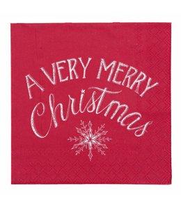 "Landhausstil Papierservietten ""Christmas"""