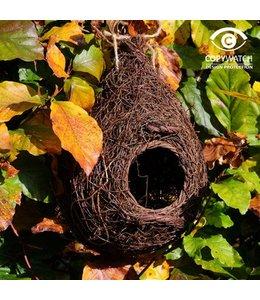 Großer Nistbeutel für Gartenvögel wie Rotkehlchen und Bachstelzen