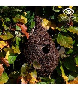 Garten Großer Nistbeutel für kleine Gartenvögel wie Zaunkönig und Heckenbraunelle