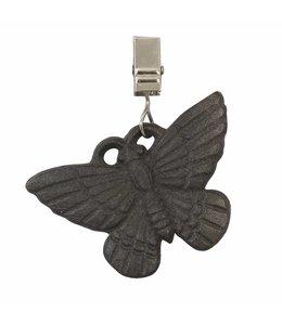 Landhaus Tischdeckenbeschwerer Schmetterling 4er-Set