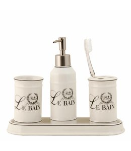 Landhausstil Badezimmer-Set Keramik