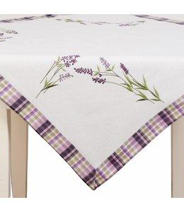 """Landhaus Tischdecke """"Lavendel der Provence"""" 85 x 85"""
