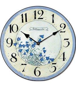 """Landhaus Wanduhr """"Clock Blue"""""""