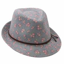 """Wohnaccessoires Landhausstil Englischer Kinderhut """"Country Flowers"""""""