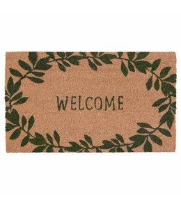 "Shabby Chic Türmatte ""Welcome"""