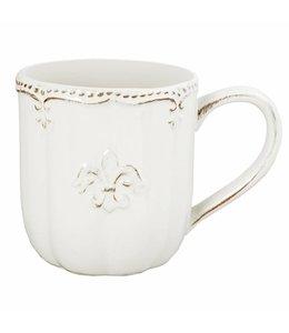 """Landhaus Kaffeebecher """"Französische Lilie"""""""