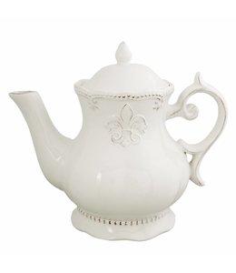 """Landhaus Teekanne """"Französische Lilie"""""""
