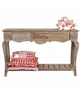 Landhaus Rustikaler Wandtisch für das Landhaus
