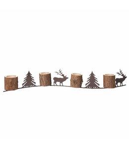 """Landhaus Teelichthalter """"Weihnachtsstimmung"""""""