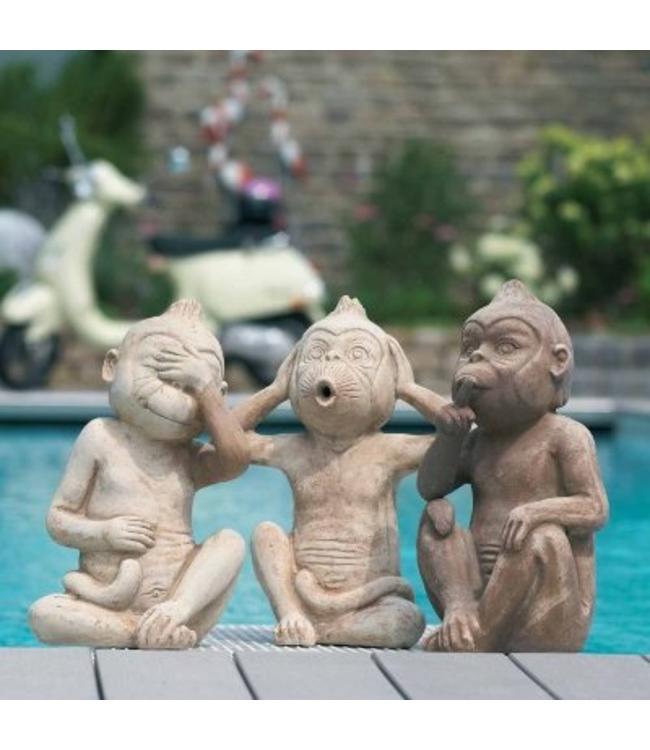 Drei Affen - nichts sehen, nichts hören, nichts sagen