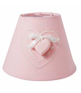 Lampenschirme Landhausstil Lampenschirm rosa