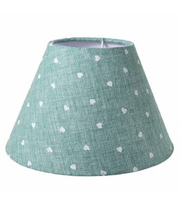 Landhaus Lampenschirm hellgrün