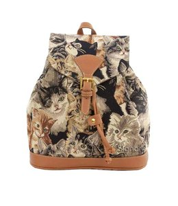 """Country-Style Rucksack """"Cat"""""""