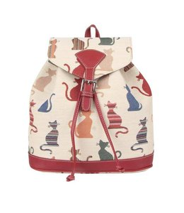 """Country-Style Rucksack """"Cheeky Cat"""""""