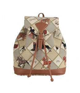 """Country-Style Rucksack """"Equestrian Sport"""""""