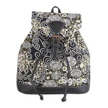"""Taschen im Landhausstil Rucksack """"Klimt Black & White"""""""