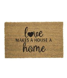 """Landhaus Fußmatte """"Love"""""""