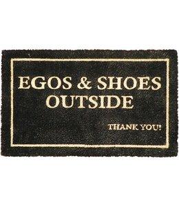 """Landhaus Fußmatte """"Egos & Shoes"""""""