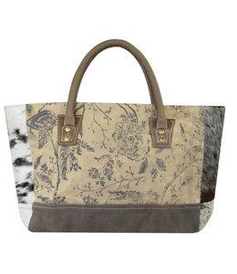 """Vintage Handtasche """"Rose"""" Leder"""