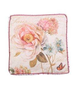 """Landhaus Stuhlkissen """"Garden Rose"""""""