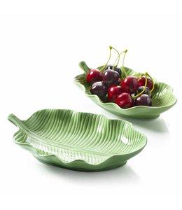 Blattschale Keramik