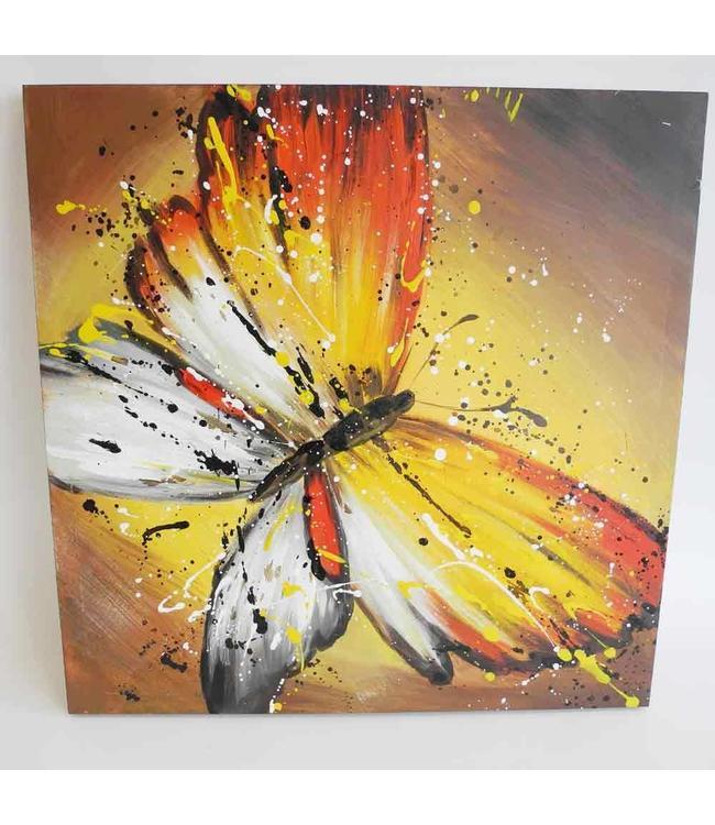 "Shabby Chic Wandbild ""Schmetterling"""