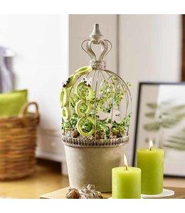 Blumentöpfe Landhausstil Blumentopf mit Krone, 2er-Set