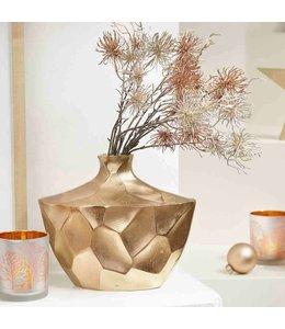 Garten Vase Kupfer Wabendesign