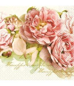 """Landhausstil Papierservietten """"Mary Roses"""""""