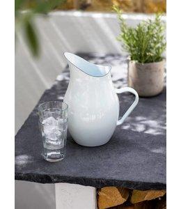 Garten Wasserkrug Emaille