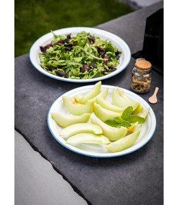 Garten Salatteller Emaille - Mittel (35 cm)