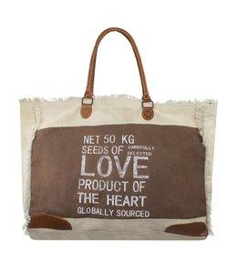 Landhaus Vintage Handtasche Love