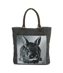 Shopper Landhausstil Coutry-Shopper Kaninchen