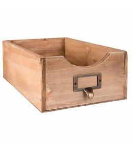 Landhaus Holzkisten für Zeitschriften