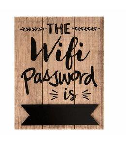 """Garten Wandschild """"Wifi-Paßwort"""""""