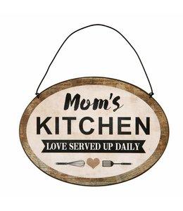 Landhaus Dekoschild Moms Kitchen