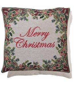 Landhaus Kissenhülle Merry Christmas