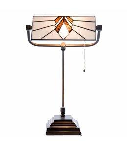 Schreibtischlampe Tiffany für den Wintergarten