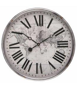 Wanduhren Wanduhr Weltkarte