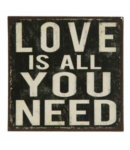 Garten Kühlschrankmagnet Love is all you need