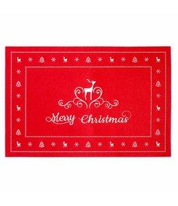 Landhaus Tischset Merry Christmas
