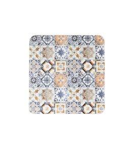 Shabby Chic Glasuntersetzer Mediterran 6er-Set