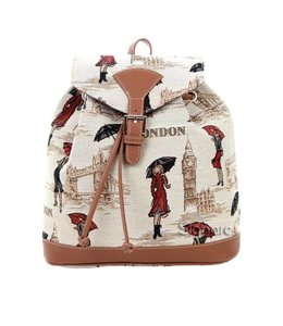 Country Style Rucksack Miss London